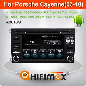 Hifimax Android 5.1 car/ car dvd navigation FOR Porsche Cayenne 2003-2010 with touch screen OBD DAB Quad Cord 16G HD 1080P