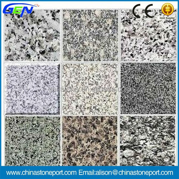 Different Grey Kinds Of Granite Slabs