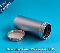 120ml Cylinder Aluminium can,Aluminum tin,Aluminum jar