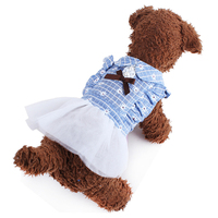 new pet clothes pet little flower skirt dress supplies for dogs