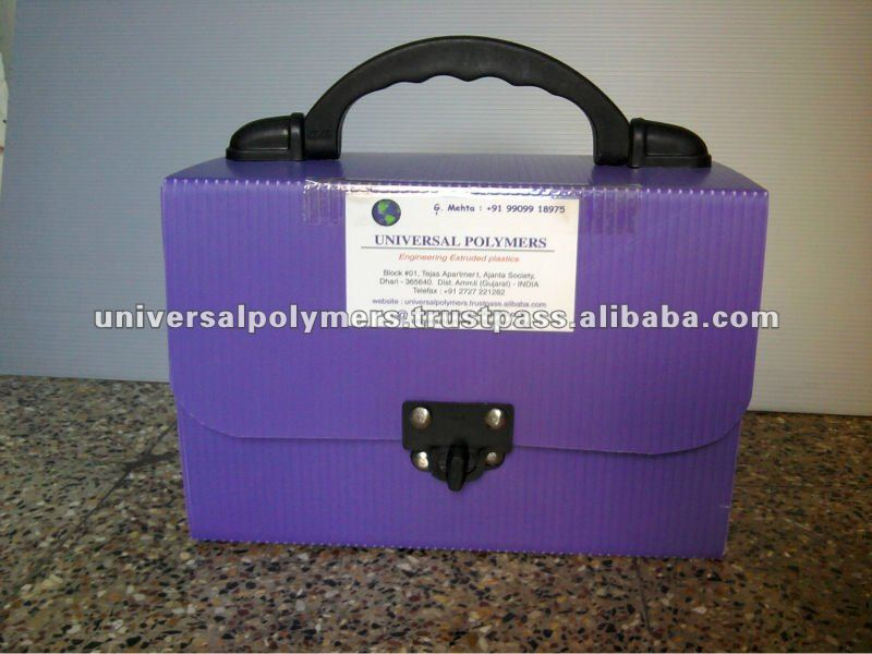 plastic box corrugated storage box