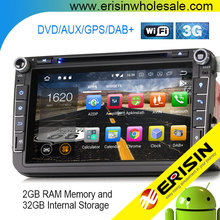 Android 8 Electric Car Auto Radio GPS Navi Multimedia Audio Stereo 2 Din ES5815 Passat Golf Touran