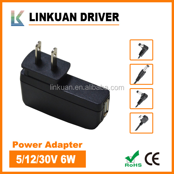 International computer 12V 1A power adapter