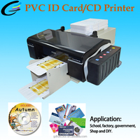 New Arrival Inkjet PVC Printing Machine Business ID Card Print Machine For Sale