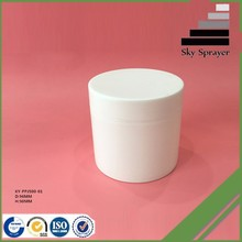 Best quality Transactions via Alibaba.com cheap cosmetic plastic jar 500ml