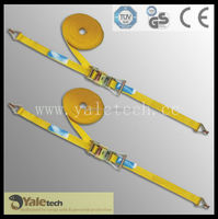 Cargo Lashing straps,lashing belt, ratchet tie down