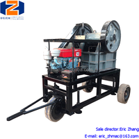 5% Discount Stone Crushing Plant Small Jaw Crusher With Diesel Engine
