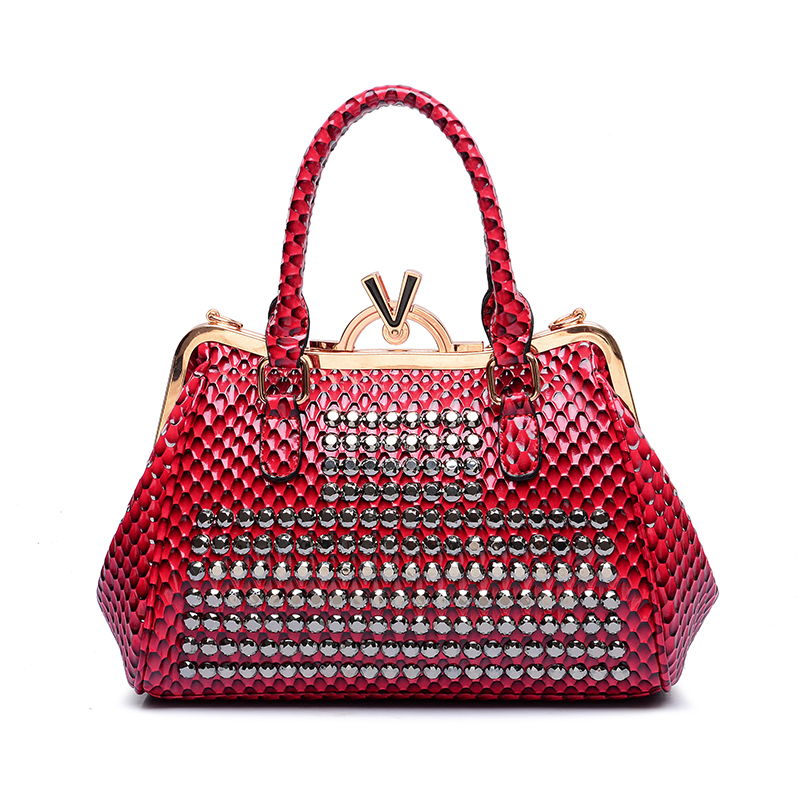 2015 New Products V Snake Women Bags Wholesale Ladies ...