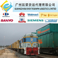 Railway Transport to Bishkek/Kyrgyzstan from China Guangzhou/Shenzhen/Zhejiang