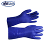 NMSAFETY cheap pvc water resistant working gloves oil gas resistant glove