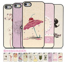 China Supplier Vintage Hard PC Plastic Case For iPhone 5 5s
