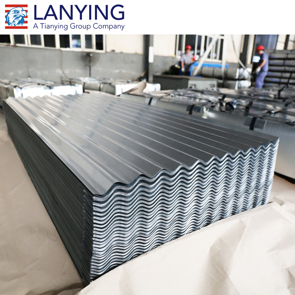 Hot sale colored coated and hot zinc corrugated roofing sheet
