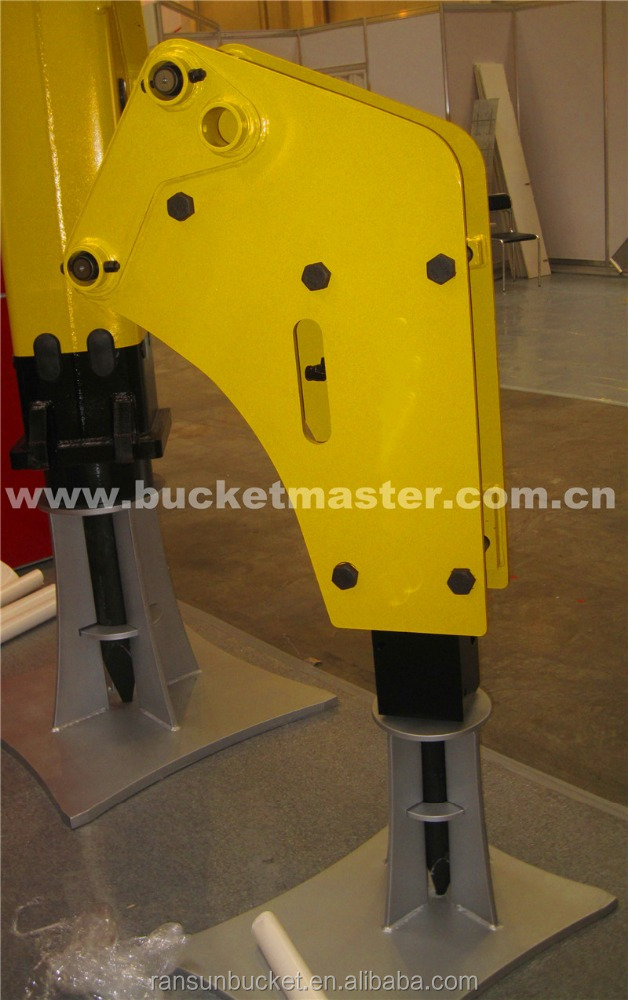 Different Design hydraulic jack hammer fit to 1-50t excavator