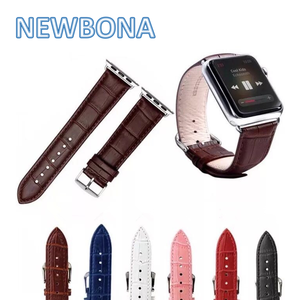 Smart Wrist Band Extenders 42Mm Leather Watch Band For Apple Watch
