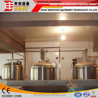 1000l Craft beer brewer resturant equipment/brewery beer equipment