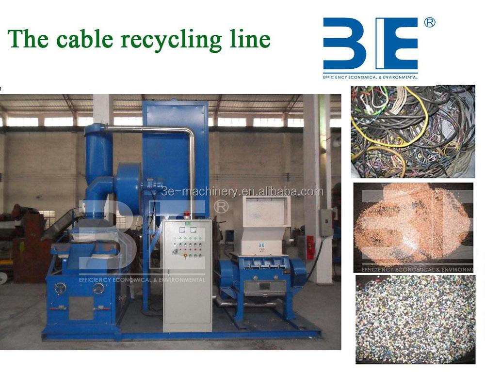 High efficient Cable Recycling Machine/copper wire recycling machine for sale