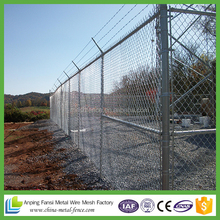 Australia heavy galvanized coating chain link fence mesh fabric