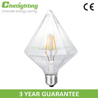 DIY decorative vintage great led lighting bulb with security confirmation