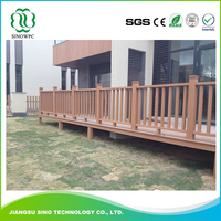 Hot Sales Wood Plastic Composite Wood Plastic Wpc Foam Bridge Railing
