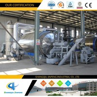 Waste Plastic to Fuel Machine Pyrolysis Plant during Whole Process NO Pollution