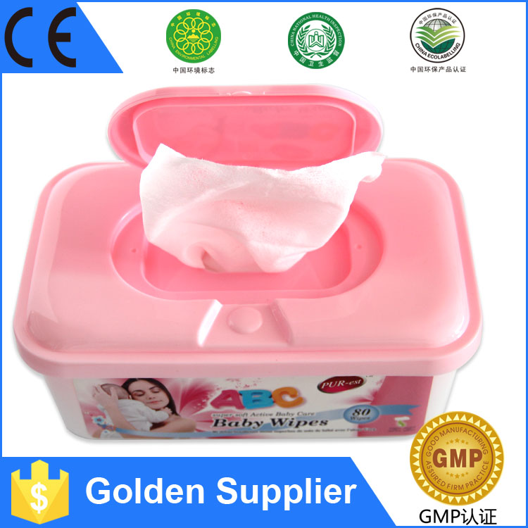 Chinese Famous OEM Manufacturer Big Disccount Plastic cases packaging baby wet wipes