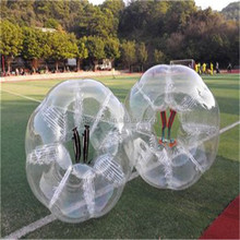 Transparent PVC Bubble Football Suits Small Size for Kids. P1024