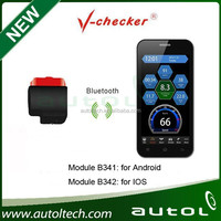 OBD trip computer with android and android ios app V-checker B341/B342