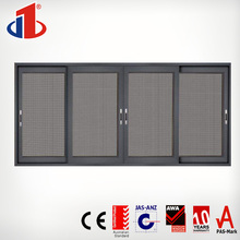 Office Partition Aluminum Soundproof Cheap Price Glass Fixed Interior Sliding Window With Roller