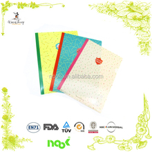 A4/A5 L Shape Printing PP PET PVC Plastic File Folder