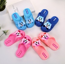 Kids puppy and dog pattern Non-Slip Shower Pool <strong>Slippers</strong> Cute Outdoor Indoor Kids Flip Flops <strong>slippers</strong> for Little Girls Boys