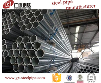 Tianjin Guangxin Hot sale dn32 schedule 40 galvanized steel pipe