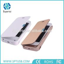 Cover leather slim power case for iphone5 for iphone5s 4200mAh