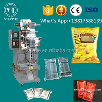Automatic snack plastic bag nitrogen sealing machine for small business