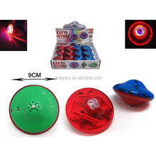 world best selling products spinning top electri ufo super gyro with music and flashing light