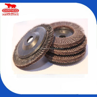 HD182 abrasive flap disc for paint removal