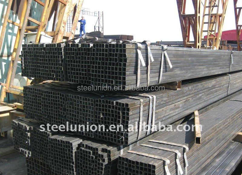 square hollow steel pipe (China factory and manufacture)