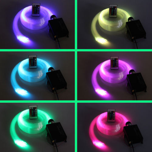 Fiber Optic Star Ceiling Kit Light 0.75mm*150pcs*2m