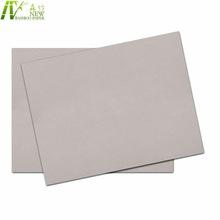 Laminated grey thick pressed cardboard sheets