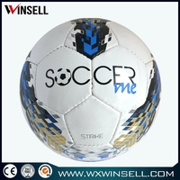 machine stitched 32 panels advertising brilliant soccer/football/soccer ball