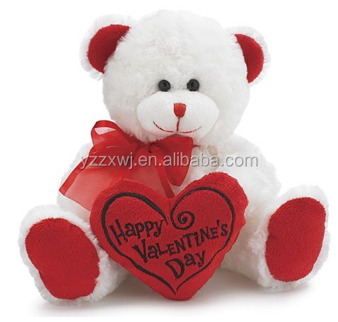Bear Plush Toys Gift for Valentines Day/valentines day stuffed bear gifts/ Teddy Bear Soft Stuffed Valentine Day with heart