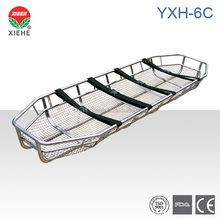 YXH-6C Stainless steel helicopter rescue Basket Ambulance Stretcher