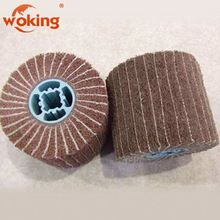 120mmx100mm Non Woven Flap Interleave Brush for stainless steel,wood,aluminum