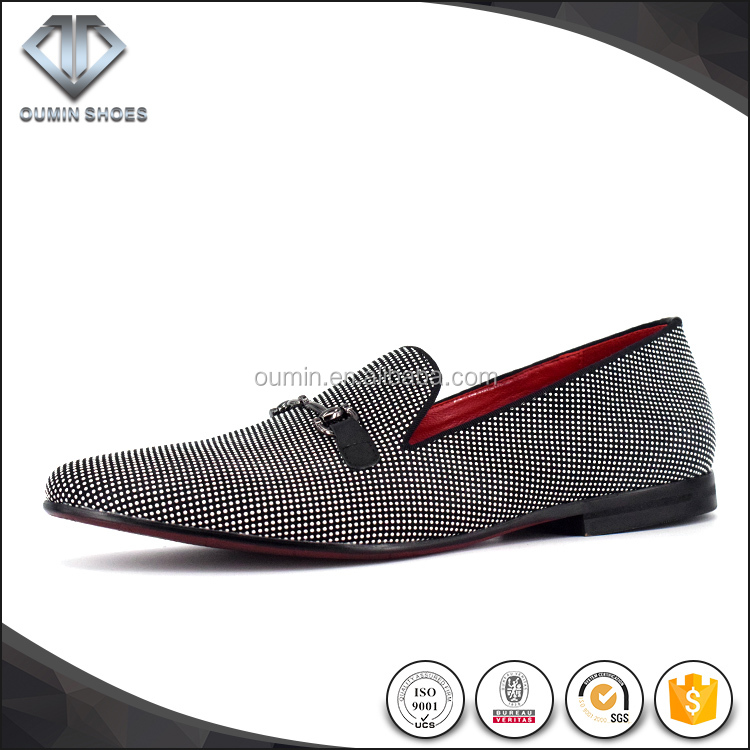2017 High Quality Suede Leather loafer chaussure slip on loafer men shoes