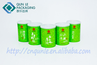 cylinder ring pull paper tea can