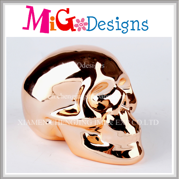 Fashion Skull Design Collection Piggy Bank Ceramic Wholesale