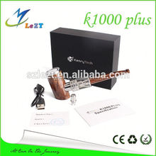 hot new products for 2016 plus k1000 wooden e pipe ,epipe k1000 e cigarette with best quality
