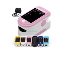 2016 New Fingertip pulse oximeter 7 colors for choose competitive price