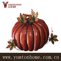 Beautiful decorative resin/metal pumpkin for harvest festival