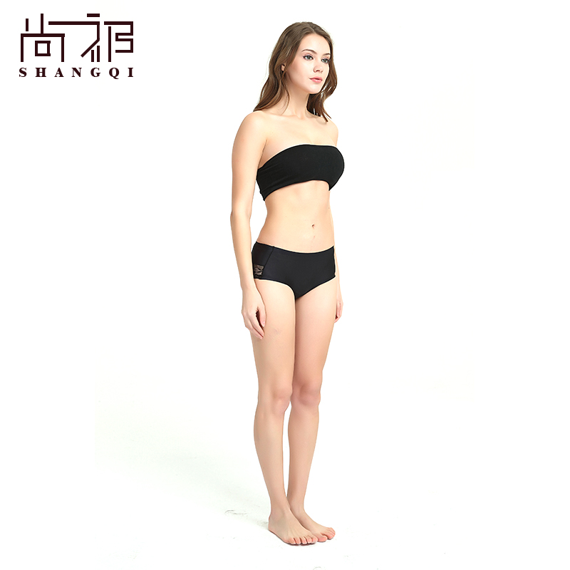 define women Ice silk anti-microbial underpants for free sample