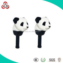 wholesale panda animals soft plush Christmas Gift Golf Headcovers